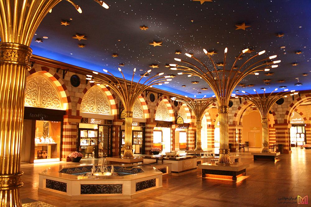 بازار طلا مرکزخرید دبی مال